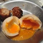 豚娘 - 半熟煮卵