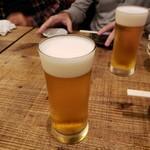 牛たんやき みのる - 生ビール