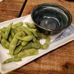 牛たんやき みのる - 茶豆2019.10.28