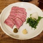 牛たんやき みのる - 炙り刺2019.10.28