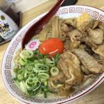 おとど食堂 葛西店はなれ - 2019/10/27 ランチで利用。 肉玉そば(850円)