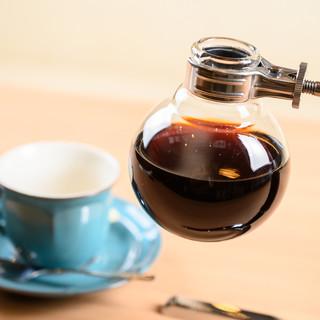 コーヒーの素直な美味さ♪雑味のない~サイフォン式コーヒー~
