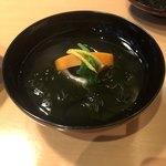 日本料理 水簾 - 吸い物