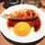 鶏肉屋の炭火焼鳥 鳥ひさ - 料理写真:月見つくね250円+税は間違いない美味しさ