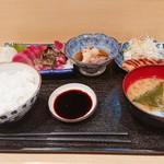 再来 - 料理写真:再来定食(税込¥1000)~御飯・味噌汁付~