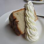 チャチャブー - バナナのシフォンケーキ