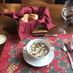 風 - スープとパン
