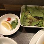 サイゴン フォー - 薬味に生野菜