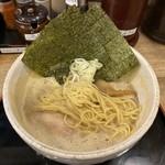 らーめん夢屋台 - ストレート細麺