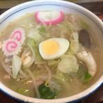 ふじかわ食堂 - 料理写真:900円の五目ラーメン