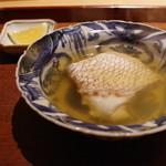 永山 - 鯛の酒蒸し