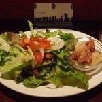 サラサ3 - 本日の前菜&サラダのプレート