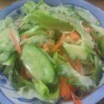 江洲の花 - セットのサラダ
