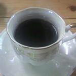 江洲の花 - セットのコーヒー