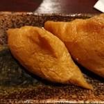 大阪豚しゃぶの会 天六店 - いなり寿司