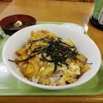 めし処銭屋 - かつ丼の器がデカイ(^_^;)