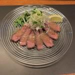 肉バル ITTOKU - ネギ生姜たっぷり牛タンのローストビーフ