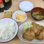 定食 あじ亭 - 料理写真:とりかつ定食