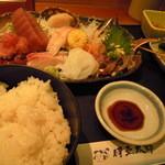 伊豆太郎 - 刺身定食