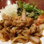 マルかつ食堂 - 生姜焼き