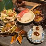Kuronekoyoru - 季節の前菜盛り合わせ