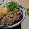 元祖セルフうどんの店 竹清 - 料理写真:肉うどんとかしわ天