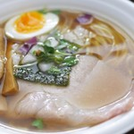 拳ラーメン - 料理写真:京鴨ノドグロ煮干しそば