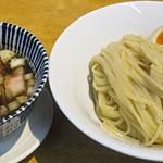 麺食堂 88 - 料理写真:【つけそば + 煮玉子】¥850 + ¥100