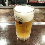 お好み焼き 遊ゆう - 生ビール(中)