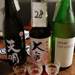 居酒屋 ※米屋 - きき酒セット