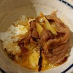 居酒屋 ※米屋 - 醤油麹和牛すき焼きかけ卵ご飯