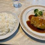インペリアル - ハンバーグ定食(950円)