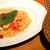 ペッシェドーロ - 小海老とモッツァレラチーズの白ワインソースパスタ