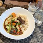 フレンチカレー スプーン - 野菜フレンチ(2/3サイズ  税込1,140円)