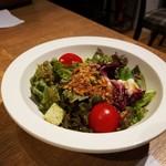 いしがまやハンバーグ - スペシャルセットのサラダ