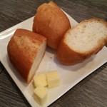Osteria Lauro - オリジナルのバターつき