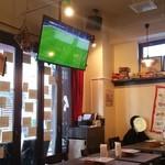 Osteria Lauro - スポーツ観戦もできる大型テレビ