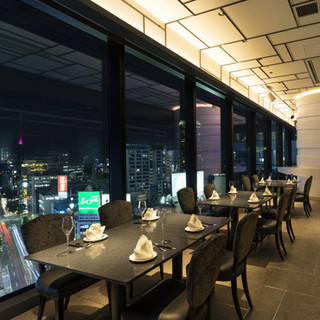 渋谷が一望できる極上空間