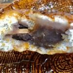 火群庵 - 餡子入り焼きまんじゅうは豪華な美味しさがあります【料理】