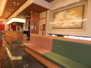 和楽 市場店 - 後ろの待合席 【 2012年2月 】