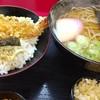 権八 - 料理写真:ミニ丼セット(かけそば・天丼)