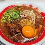 118606567 - 徳島黒醤油豚骨ラーメン・小