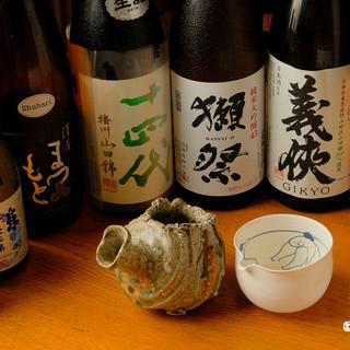 おいしい料理と日本酒を舌鼓