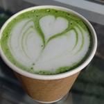 カフェ ローブ - 抹茶ラテ