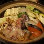 珀や 別邸 - 桜鯛の海鮮鍋