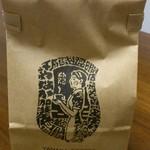 やなか珈琲店 - コーヒー豆。100g。