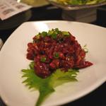 吉松亭 - 馬肉ユッケ