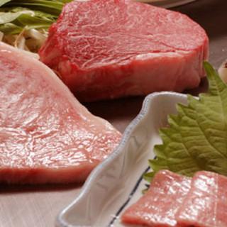 一流シェフの確かな目で厳選した和牛ステーキをご堪能ください。