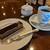 星乃珈琲店 - [料理] この日のケーキセット 全景♪W