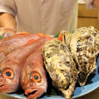 彩り鮮やかな厳選食材◎絶品料理をカジュアルに楽しむ
